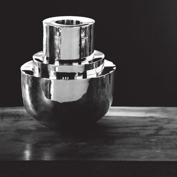 Metallia - Quirico design Liliana Bonomi Centro Tavola - Porta Frutta - Ciotole - Vasi