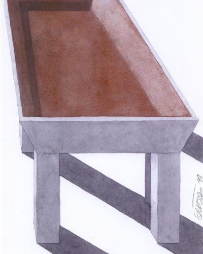 Metallia - Basilio design Ettore Sottsass Disegno