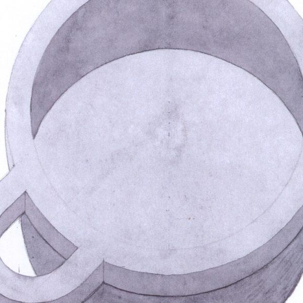 Metallia - Iside design Ettore Sottsass disegno