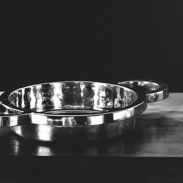 Metallia - Iside design Ettore Sottsass Centro Tavola - Porta Frutta