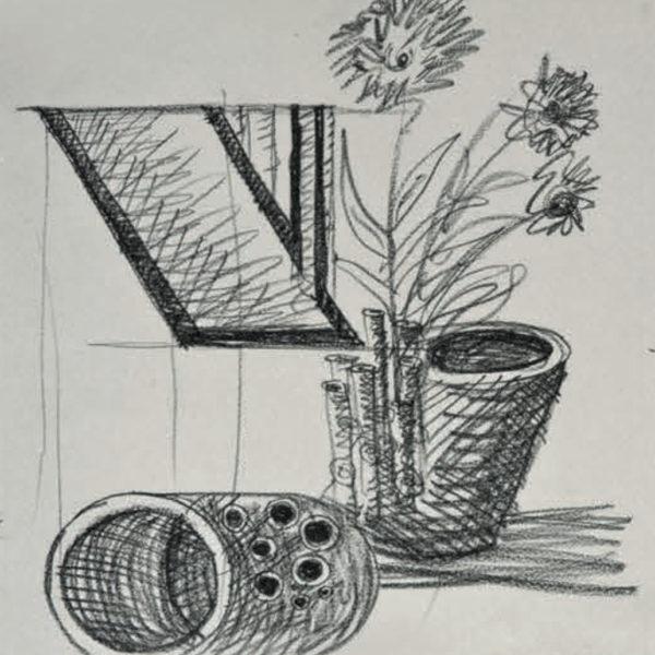 Vaso Cinque Mario Botta - Tredicivasi disegno